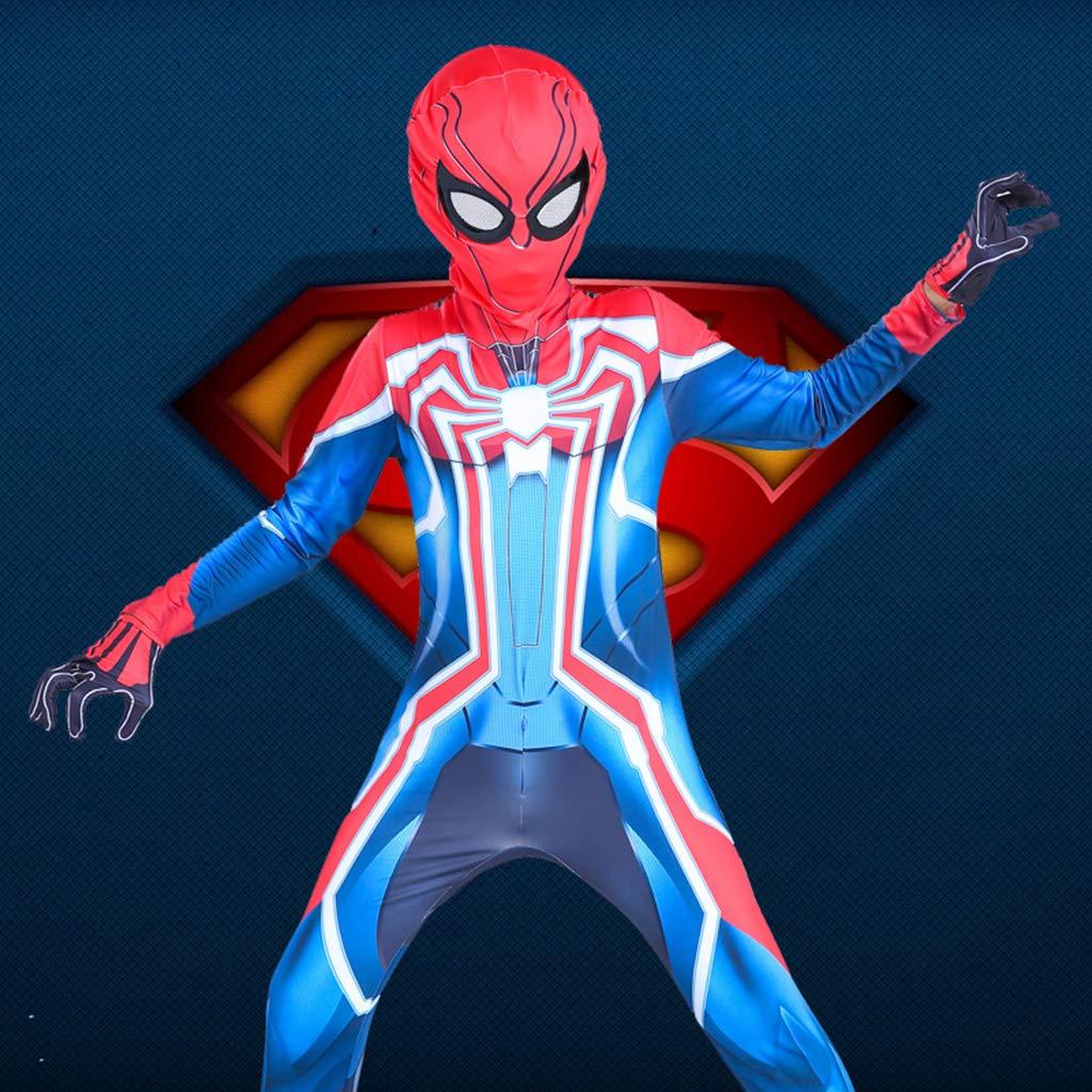 CAKGER La Ropa 3D de rol Spider-Man Spider-Man Ropa máscara Adulta ...