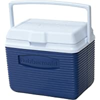 Rubbermaid 10 Qt. Blue Ice Chest Cooler (FG2A1104MODBL)