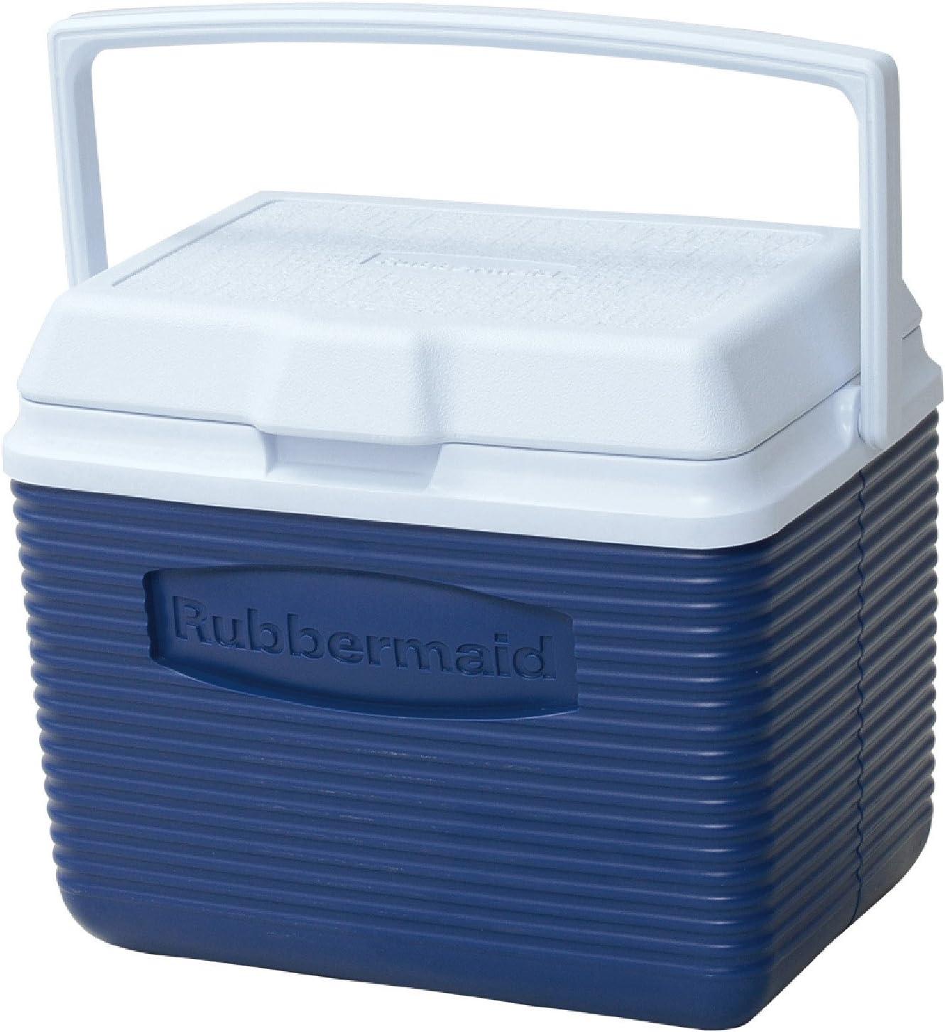 Rubbermaid Cooler, 10 Quart, Blue FG2A1104MODBL