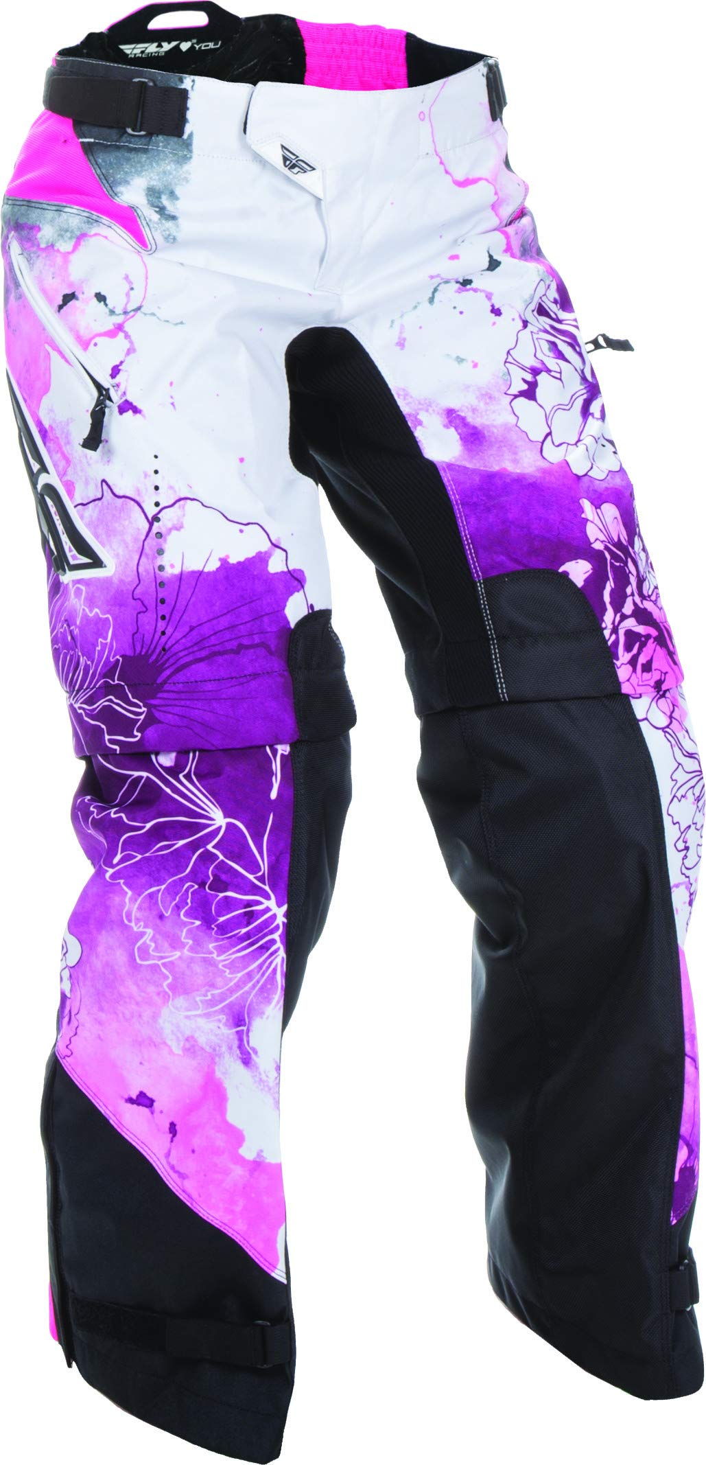 Fly Racing Unisex-Adult Kinetic Women's Over Boots Pants Pink/Purple Size 9/Size 10 by Fly Racing