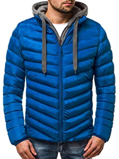 OZONEE Herren Winterjacke Parka Jacke Kapuzenjacke Wärmejacke Wintermantel  Coat Wärmemantel Warm Modern Täglichen JS SM08 1076feed9d