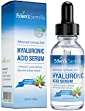 Sérum à l'Acide Hyaluronique 30ml - Un des meilleurs hydratants anti-âge. Repulpe et lisse les rides et ridules. Contient de la Vitamine C, du Rétinol, une Protection Antioxydante à la Vitamine E et un Booster de Collagène pour une peau plus radieuse, plus saine. Bouchon sécurisé pour les enfants.