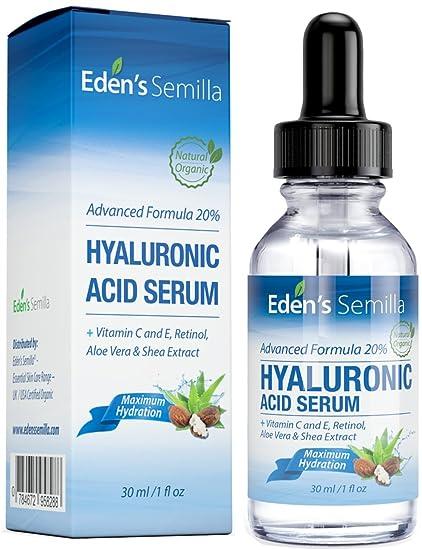 Ácido Hialurónico Serum - 30ml - Es el mejor anti-edad hidratante para el cutis