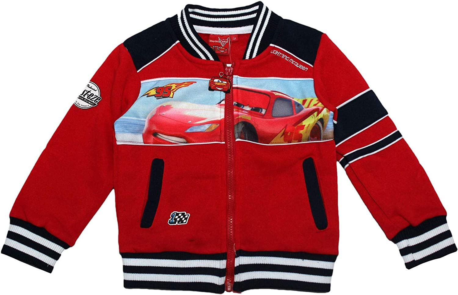 Disney Cars Lightening McQueen Warm Jumper Baseball Jacket
