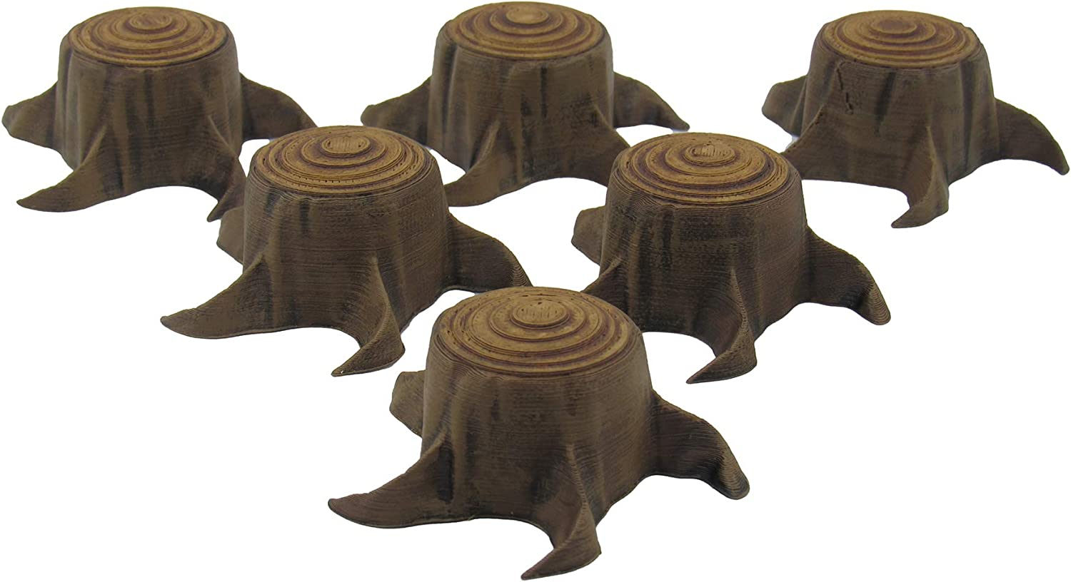 Tree Stumps, Terrain Scenery for Tabletop 28mm Miniatures Wargame ...