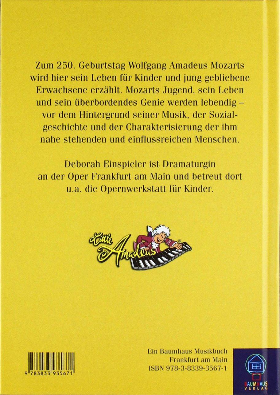 Little Amadeus Das Leben Des Jungen Mozart Amazon Deborah