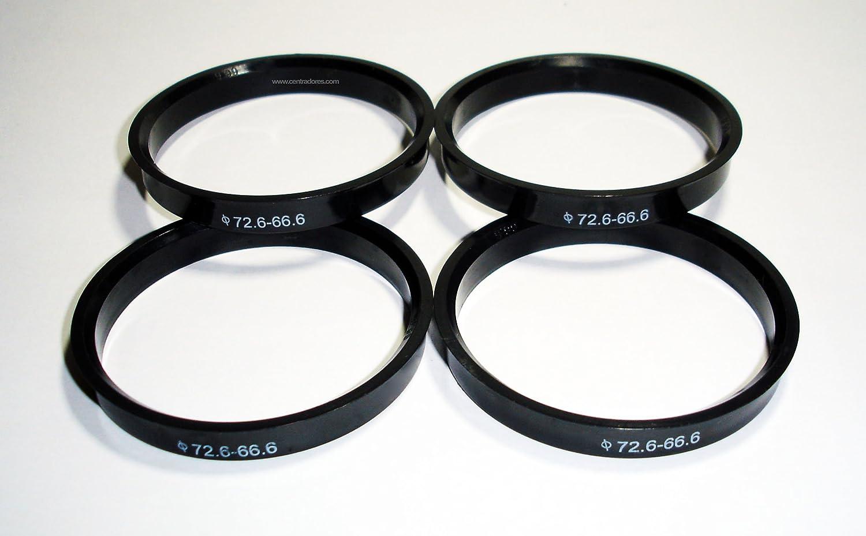 Centradores 4 LLANTA 63.4-56.6 Aros para Llantas DE Aluminio AEZ ATZ BBS Brock Cup Decent DOTZ Euro Fox KESKIN MOTEC OXIGIN RC-Design Replica RONAL SCHMIDT WHEELWORLD