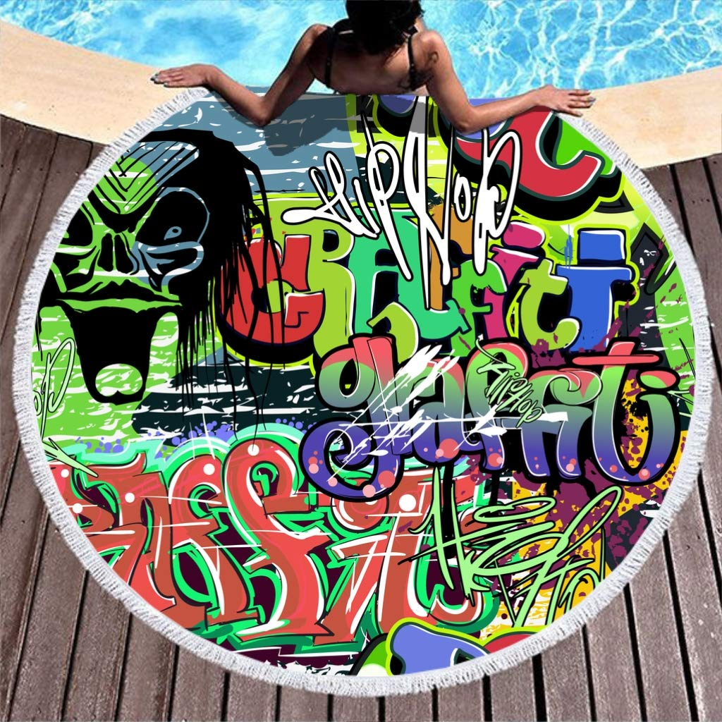 NC83 Mix Graffiti - Tapete de Escritorio Grande para Mesa de Yoga ...