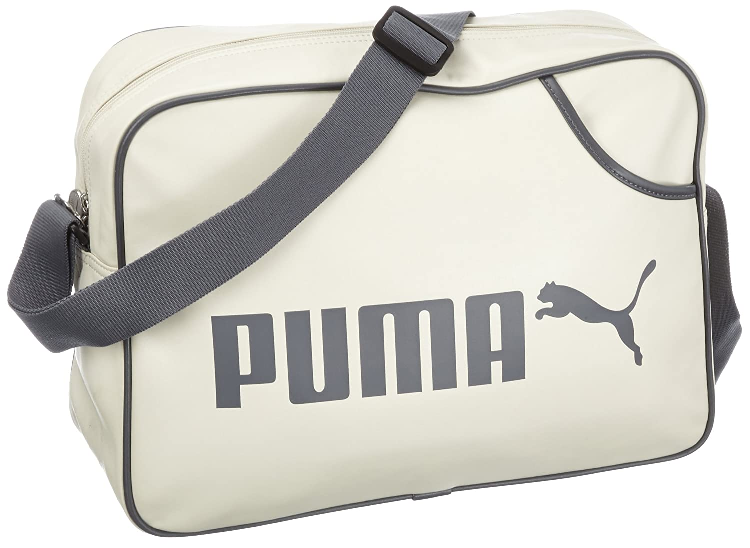fece9c898bf PUMA Campus Reporter Shoulder Bag 14 Litres birch-castlerock Size:UA:  Amazon.co.uk: Luggage