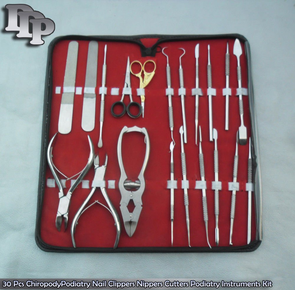 30 Pcs Nail Clippers Nippers Cutters Set DDP