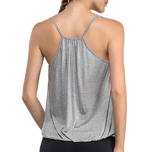 40674657b0b DISBEST Women s Sexy Deep V Neck Sleeveless Halter Tops T-Shirt