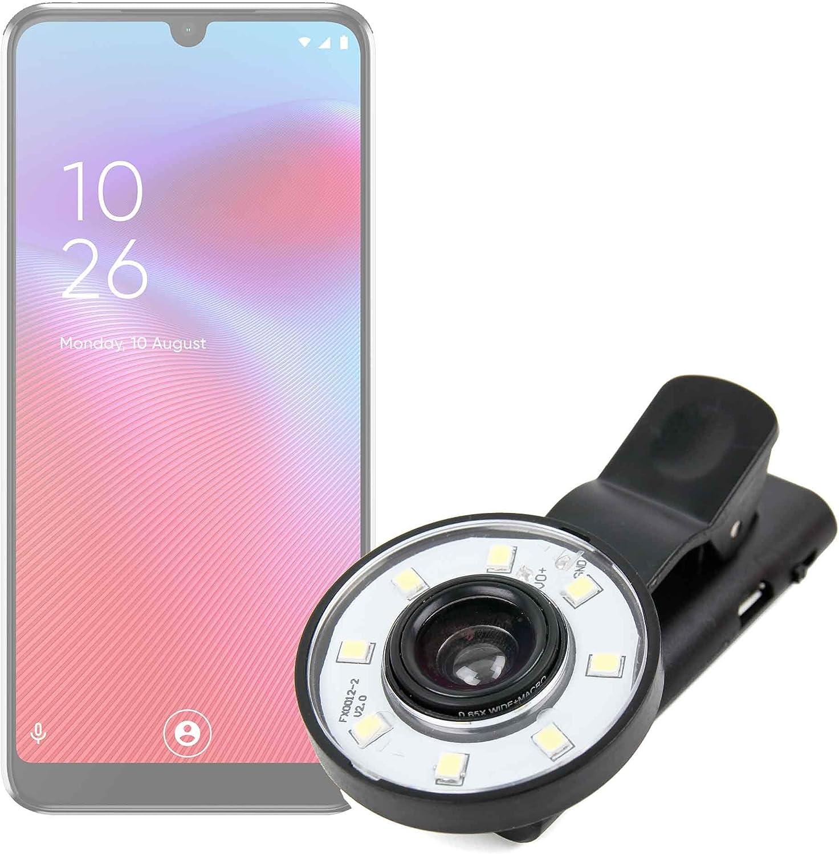 DURAGADGET Flash Selfie Compatible con Smartphone VODAFONE Smart ...