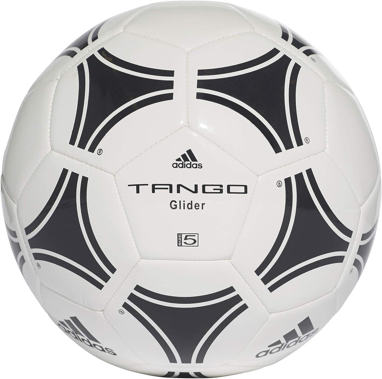 Adidas Tango Glider - Balón de fútbol, Color Blanco/Negro: Amazon ...