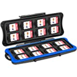 Game Card Case for Nintendo Switch - Younik 32 Slots Game Card Storage Box Include 16pcs Game Card Slots and 16pcs Micro SD C