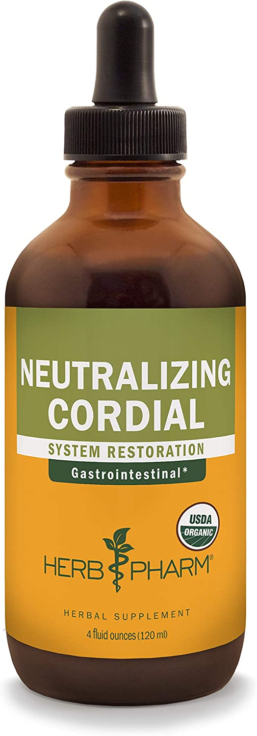 Herb Pharm Neutralizing Cordial Liquid Herbal Formula for Digestive System Support – 4 Ounce