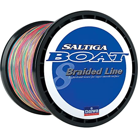 Daiwa Saltiga Boat Braided Line Multi-Color PE-5 70lb 1800m 1970 Yards – SAB-B70LB
