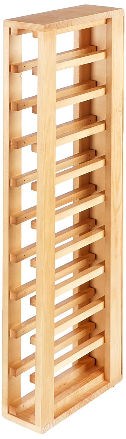 Expovinalia Wine Rack, Wood, Oak, 12 x 32 x 105 cm EXQXT Ex2031