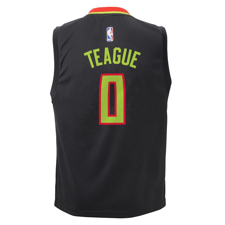 wholesale dealer f46ca 44ba2 Amazon.com : Jeff Teague Atlanta Hawks Adidas NBA Replica ...