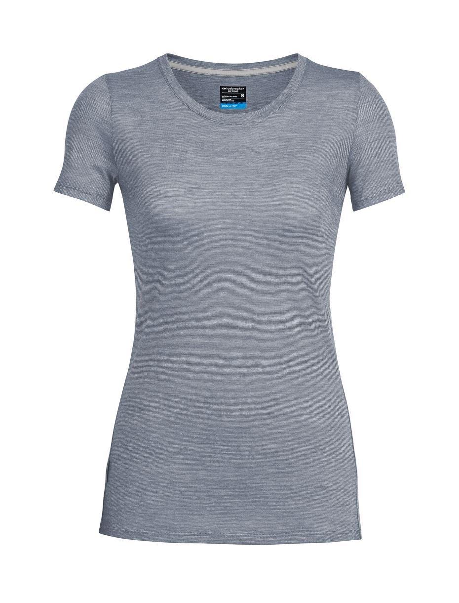 Icebreaker Merino Women's Cool-Lite Sphere Short Sleeve Low Crewe T-Shirt Icebreaker USA 104067501S