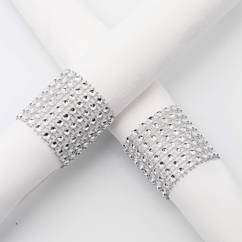 Amazon.com: KEIVA - Servilleteros, 120 unidades, diamantes ...