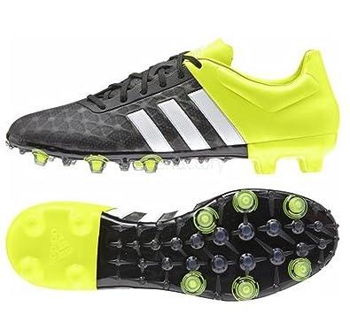 adidas Performance Mens ACE 15.2 FG AG Football Boots - 6.5 Black 6a617f194f84