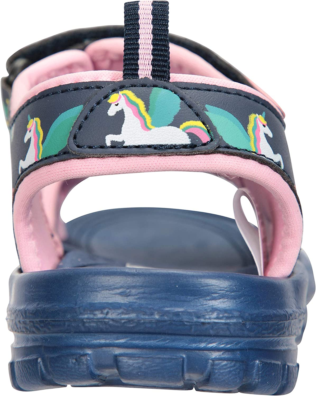 Zapatos con Forro de Neopreno Mountain Warehouse Sandalias Sand para ni/ña Calzado con Tira de tal/ón Desmontable Sandalias de Verano con Suela Resistente
