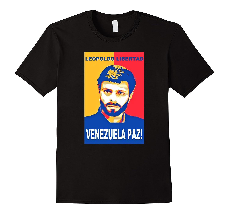 Leopoldo Libertad T-Shirt Venezuela Paz Support Peace Tee-TD