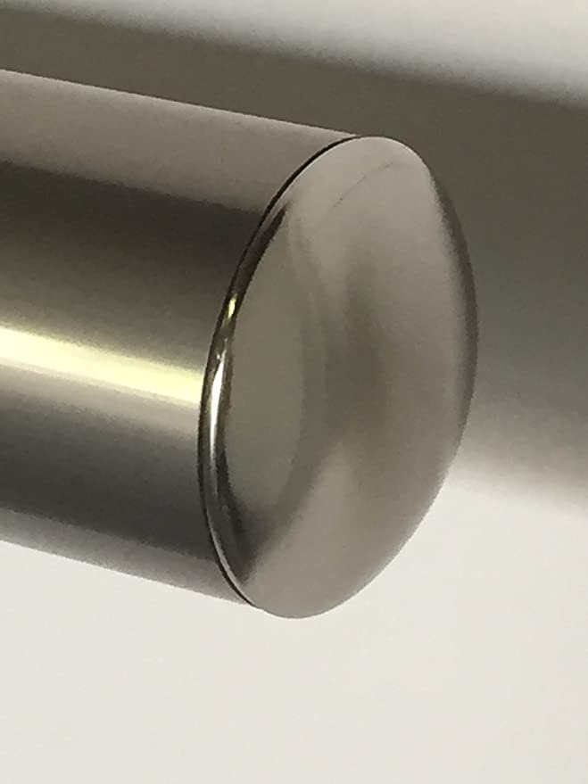 B52 Anodized Handrail Aluminum Stairs Kit Stainless Steel Look 13 Ft And 1 97 Diameter