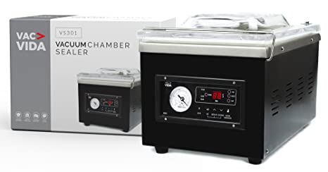Amazon.com: VAC-VIDA VS301 - Sellador de cámara de vacío ...