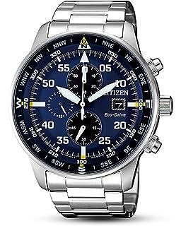 Uhr Edelstahl Herren Quarz Chronograph Mit Citizen Armband Ca0695 0v8wnONm