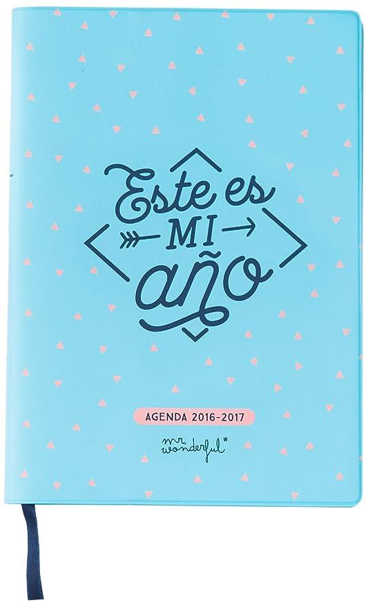 Mr. Wonderful - Agenda pequeña 2016-2017