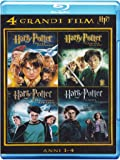 4 grandi film - Harry Potter - Anni 1-4 Volume 01 [Blu-ray] [Import italien]
