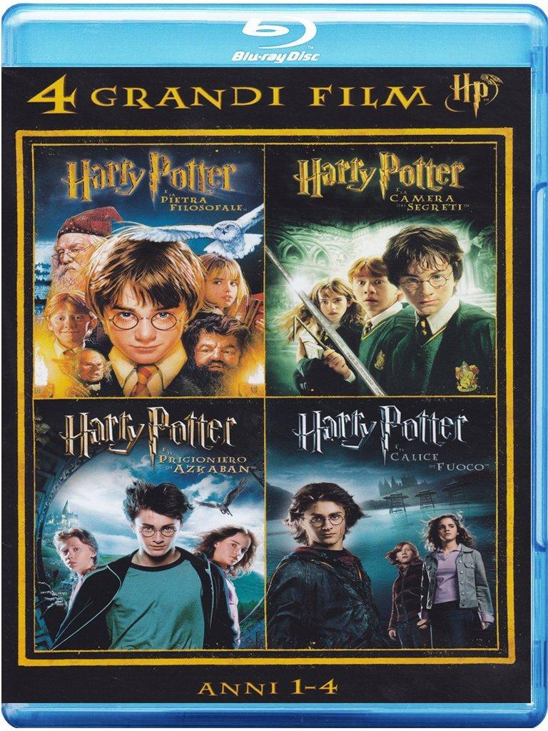 4 grandi film - Harry Potter - Anni 1-4 Volume 01 Italia Blu-ray: Amazon.es: vari, vari, vari: Cine y Series TV