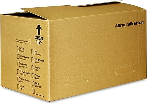 Cajas de cartón para almacenaje de libros y archivadores (40 kg de ...