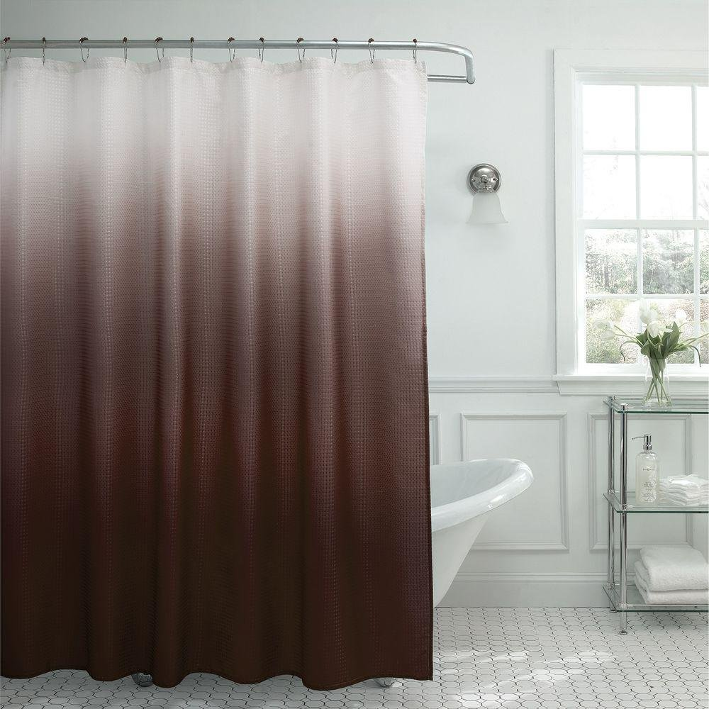 Amazon.com: Sweet Home Collection Ombre Waffle Weave Shower ...