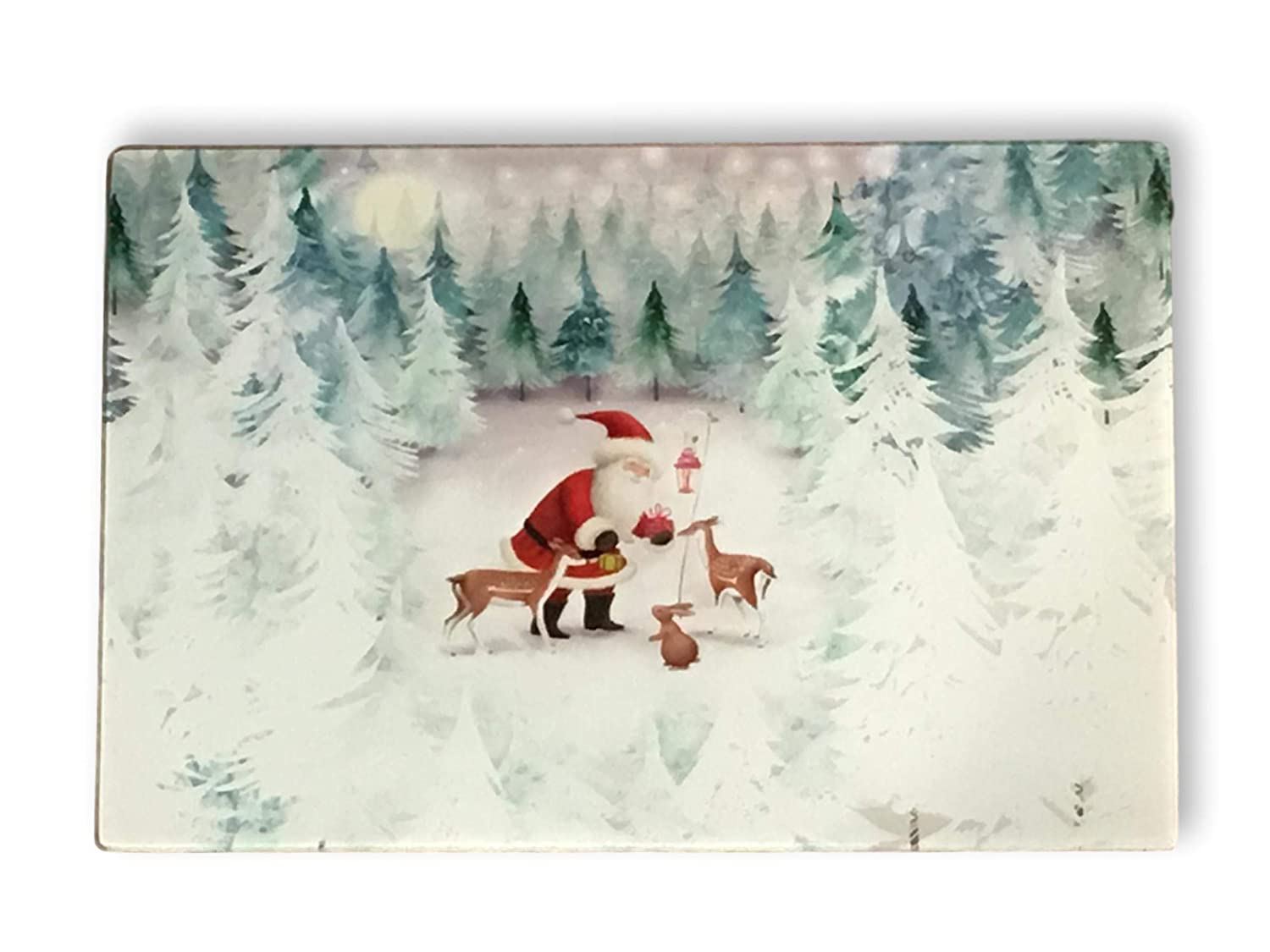 Christmas Cutting Boards Holiday Kitchen Decor Plum Nellie S Treasure S 15 X 12 Red Truck Happy Holidays Christmas Tree Glass 8 X 12 Or 15 X 12 Home Kitchen Cutting Boards Stanoc Com