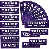 8 Patterns - Red Xing An 500Pcs Trump 2020 Sticker Election Stickers Trump Stickers Patriotic Stickers Patriotic Election Stickers for Supporting President Trump