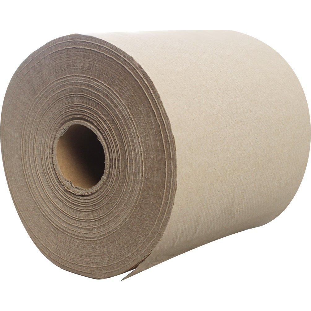 Lollicup Pack of 6 Karat JS-RTK750 Paper Towel Roll Kraft
