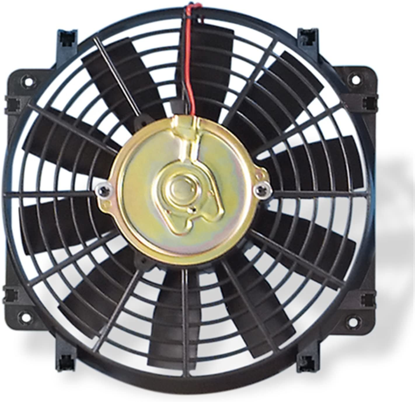 "Flex-a-lite 108 Black 10"" Trimline Electric Fan (reversible)"
