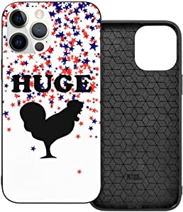 Huge Cock Funny Offensive Chicken Man Woman's Personalized Custom Phone Case Phone case Suitable for iPhone 12 and iPhone 12 Pro
