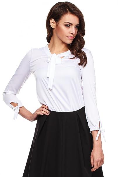 MOE Blusa Blanco S