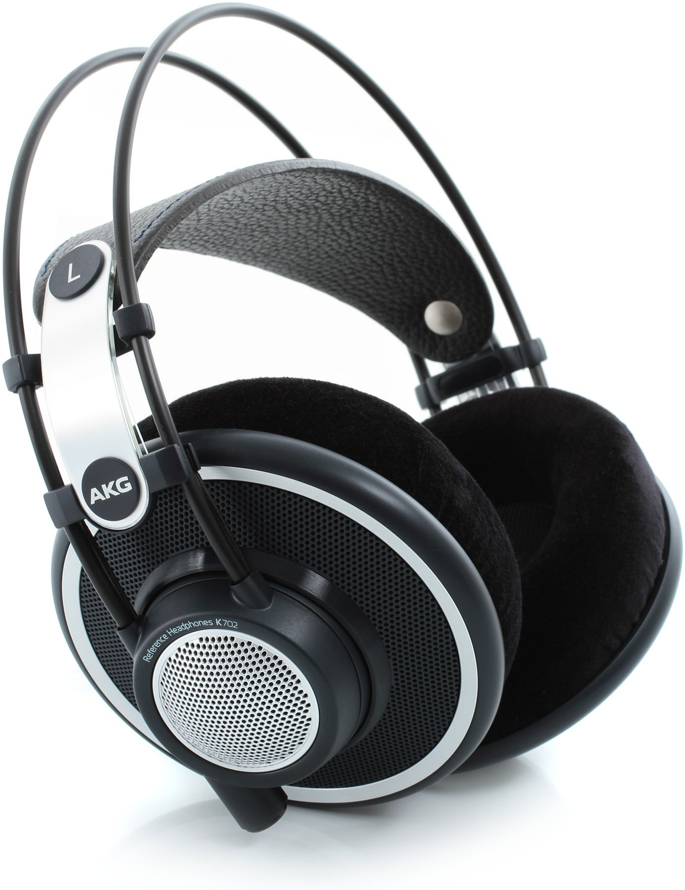 AKG Pro Audio Professional Headphones, Black, 1/4'' to 1/8'' (K702) by AKG Pro Audio
