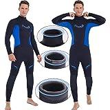 3mm Wetsuit Men,Ravani Mens Wetsuit surf Wetsuit for Men Full Wetsuit Dive Wetsuit Men Freediving Wetsuit Neoprene Wetsuit Lo