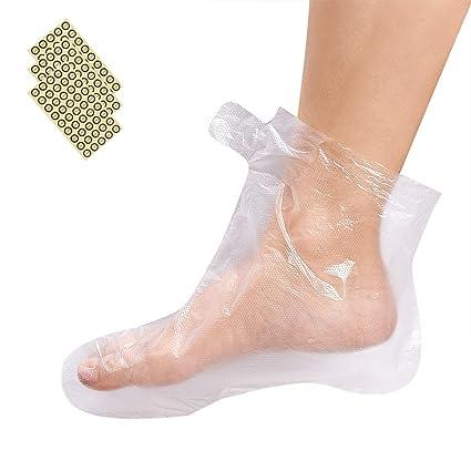 Amazon.com: Guantes y botas desechables de plástico ...