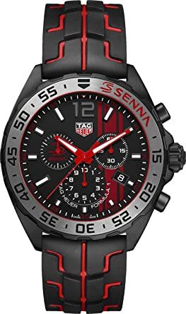 2d10ce6bfc2 Image Unavailable. Image not available for. Colour  TAG Heuer Formula 1  Senna Special Edition Men s Watch CAZ1019.FT8027