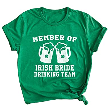 ab8f547ff Spunky Pineapple Member of The Irish Bride Drinking Team St. Patrick's Day  Bachelorette Drinking Premium