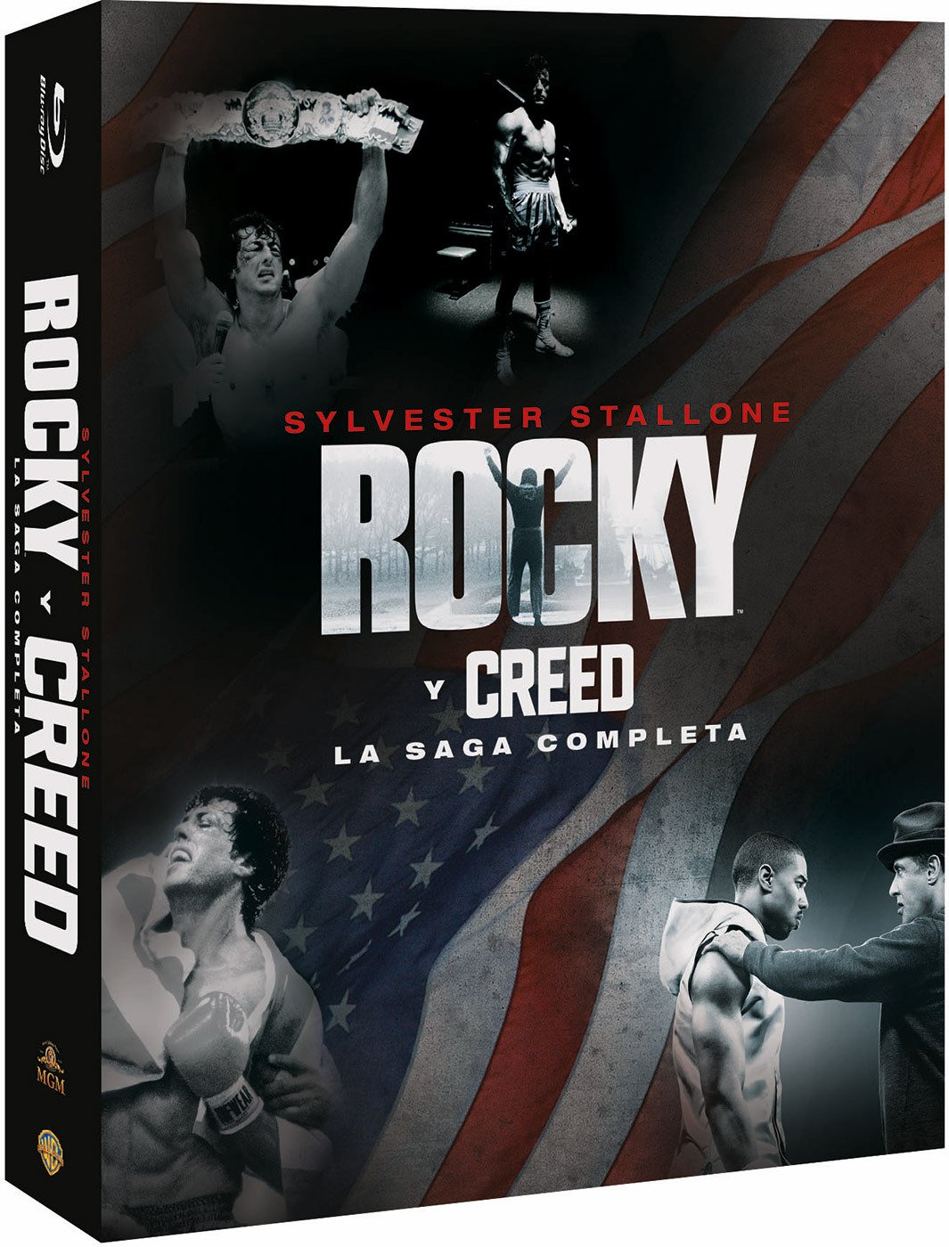 Colección Rocky/Creed Blu-Ray [Blu-ray]: Amazon.es: Sylvester Stallone, Talia Shire, Burt Young, Carl Weathers, Burgess Meredith, Michael Pataki, Rocky Krakoff, Sage Stallone, Angela Boyd, A.J. Benza, Michael B. Jordan, John G. Avildsen, Sylvester