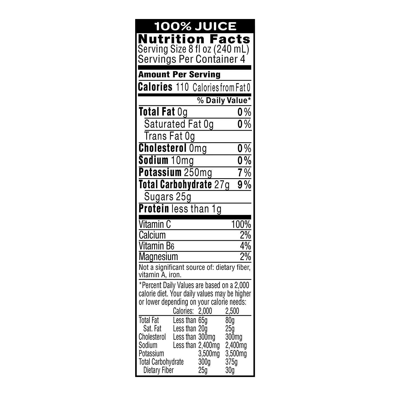 Amazon.com : Tropicana Ruby Red Grapefruit Juice, 32 oz Bottles, 12 Count : Grocery & Gourmet Food