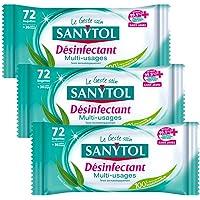Sanytol - 33631325 - toallitas multiusos desinfección x