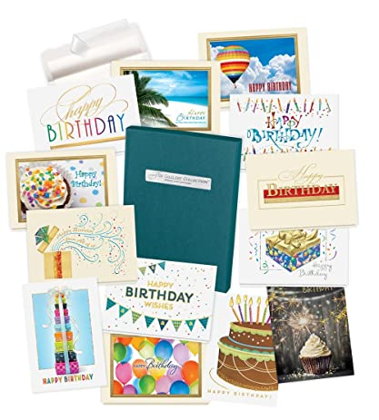 Amazon Birthday Cards Assortment Box 35 High Quality Cards – Birthday Cards in a Box